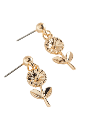 Loves Me Not Flower Post Earring | Urban Outfitters