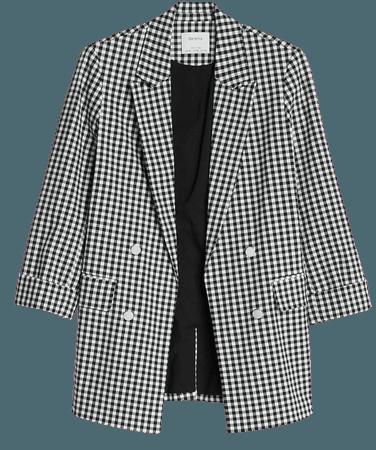 Rolled-up sleeve blazer - New - Bershka United States