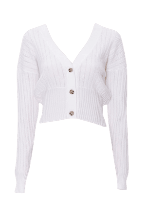Perforated Knit Cardigan   Forever 21