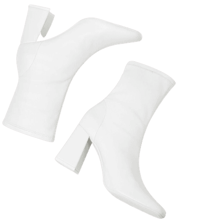 Tailored high-heel ankle boots - Shoes - Woman | Bershka