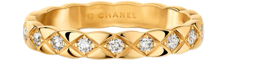 Coco Crush ring in yellow gold