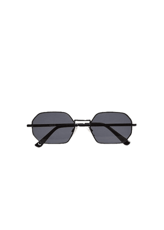 Hexagonal frame sunglasses - Women | Mango USA