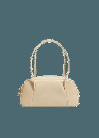 Double handle baguette bag - Women | Mango USA