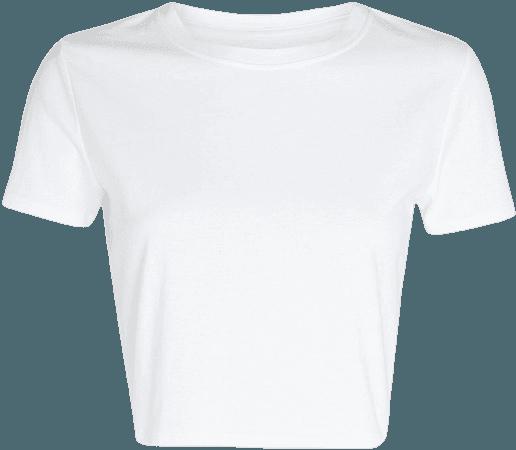 INTERMIX Flora Cropped T-Shirt   INTERMIX®