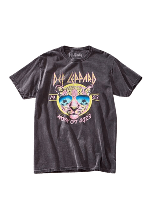 Def Leppard Graphic Tee