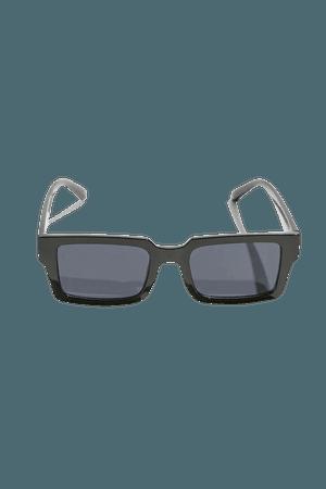 Danai Plastic Square Sunglasses   Urban Outfitters