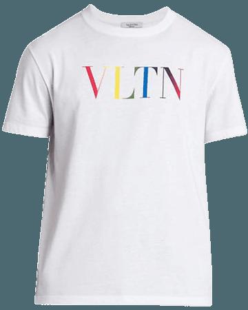 Valentino VLTN Logo Jersey T-Shirt | SaksFifthAvenue