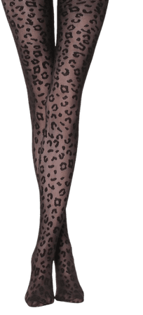 Animal-patterned tights - Calzedonia