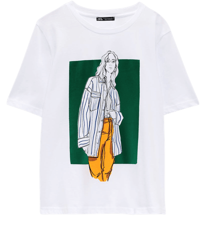 GIRL PRINT T-SHIRT | ZARA United States