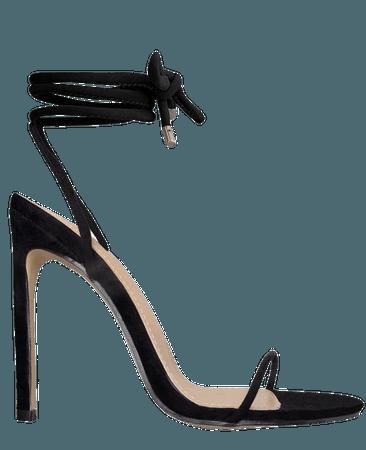 black trend heel