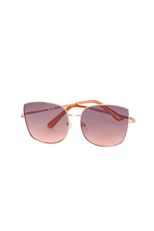 Gold Sunglasses - Square Sunglasses - Oversized Sunglasses - Lulus