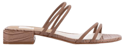 HAIZE SANDALS IN CAFE LEATHER – Dolce Vita