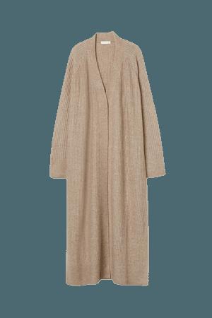 Long Cardigan - Taupe - Ladies | H&M US
