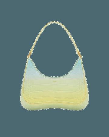 Ruby Shoulder Bag Gradient - Light Yellow & Blue Croc – JW PEI