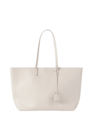 Leather Tote - Off-white