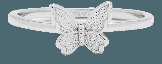 Butterfly In Flight Ring   Pura Vida Bracelets
