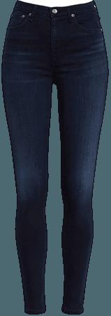 rag & bone Nina High Waist Skinny Jeans (New Gate) | Nordstrom