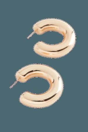 Willa Chunky Mini Hoop Earring | Urban Outfitters