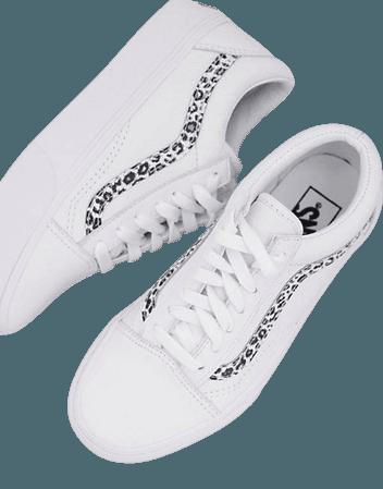 Vans Old Skool Platform Animal sneakers in white Exclusive at ASOS | ASOS