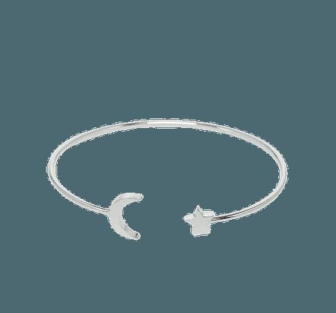 Moon & Star Arm Bracelet
