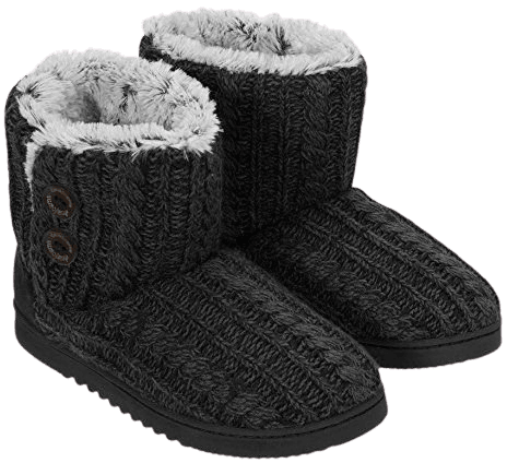 fuzzy slipper boots - Bing images