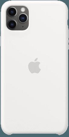 iPhone 11 Pro Max Silicone Case - White - Apple