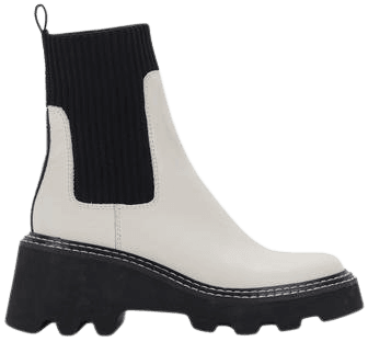 HOVEN BOOTS IN IVORY MULTI LEATHER – Dolce Vita