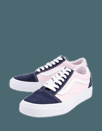 Vans Old Skool sneakers in pink/blue | ASOS