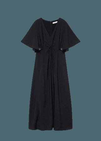 Side slit dress - Women | Mango USA