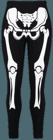 Halloween Skeleton 3/4 Legging | Boohoo