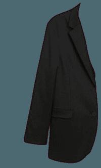 monki black blazer