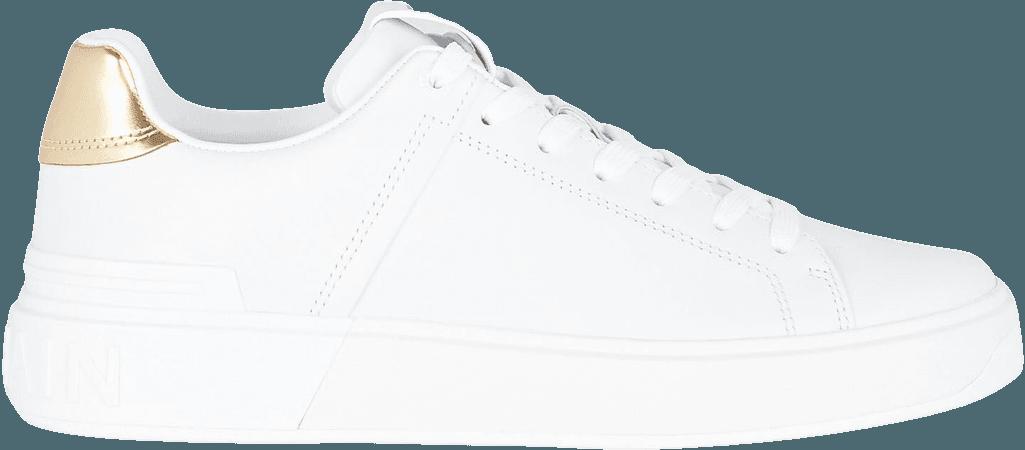 Balmain B-Court Leather Sneakers   INTERMIX®