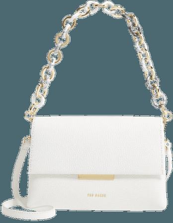 Arealia Leather Crossbody Bag