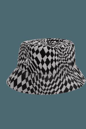 Kangol Warped Check Bucket Hat | Free People