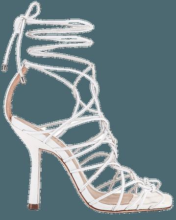 Schutz Heyde Heel in White | REVOLVE