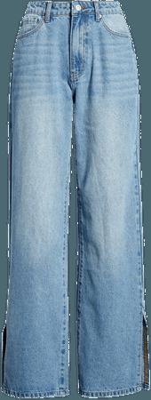 Split Wide Leg Jeans | Nordstrom