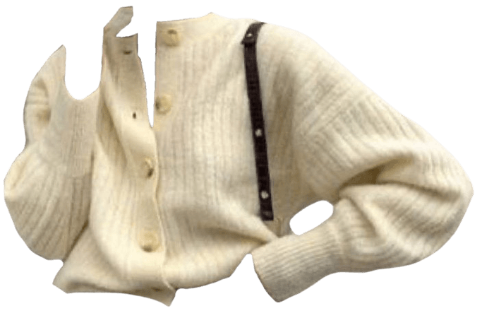 white sweater png filler