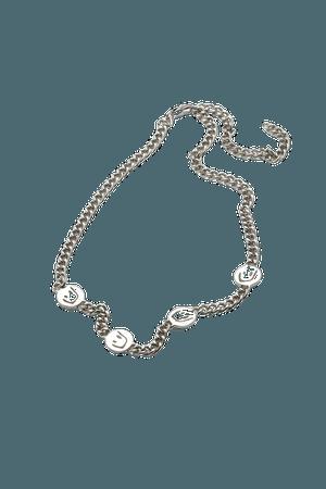 Sima Necklace - Silver - Jewellery - Weekday WW