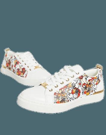 ALDO Dilathiel flatform sneakers in floral print | ASOS