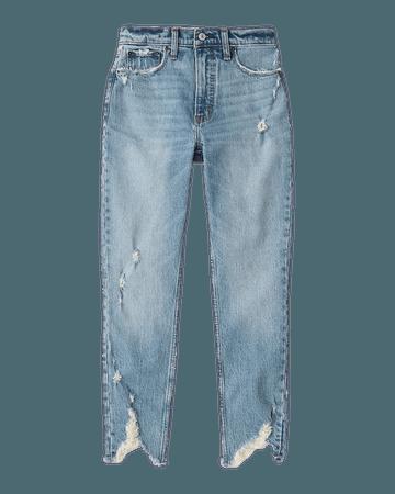 Women's High Rise Skinny Jeans | Women's New Arrivals | Abercrombie.com