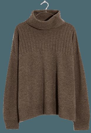 Hickory Turtleneck Sweater