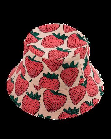 Bucket Hat : Strawberry - Baggu