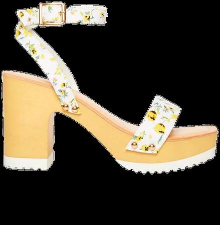 Yellow Madden Girl Caprise Wooden Platform Sandals & Reviews - Sandals - Shoes - Macy's
