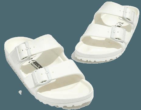 Birkenstock® Arizona EVA Sandals white