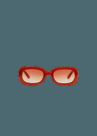 Солнцезащитные очки прямоугольной формы - Женская   Mango МАНГО Россия (Российская Федерация)