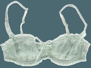 mint green bra png filler