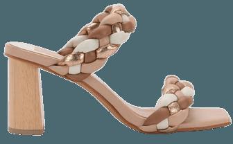 PAILY HEELS IN NATURAL MULTI STELLA – Dolce Vita