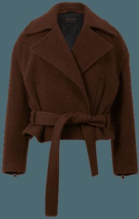 ALLSAINTS US: Womens Boston Jacket (brown)