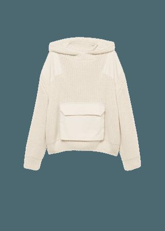 Knit pocket sweater - Women | Mango USA