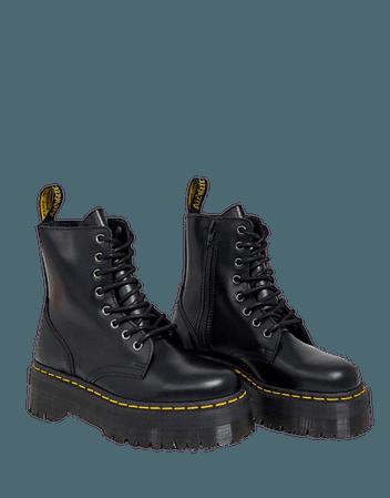 Dr Martens Jadon Flatform Chunky Boots | ASOS